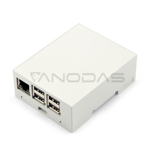 Raspberry Pi Dėžutė - DIN Juostai (kompaktiška)