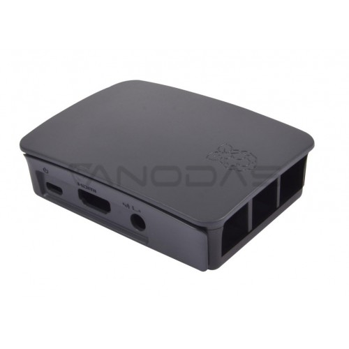 Raspberry Pi Case - Farnell - Black