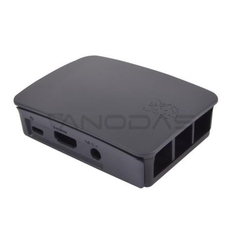 Raspberry Pi Case - Farnell - Black
