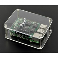 Acrylic Case for Raspberry Pi Model B+/2/3 and HiFiBerry DAC+ RCA