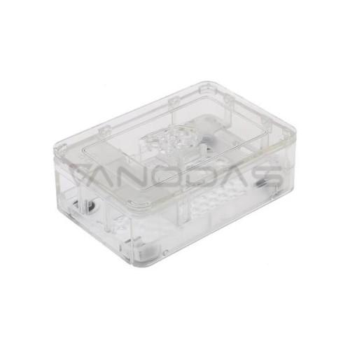 Raspberry Pi Dėžutė - RS Pro - Permatoma