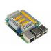 Raspberry Pi GPIO praplėtimo priedėlis