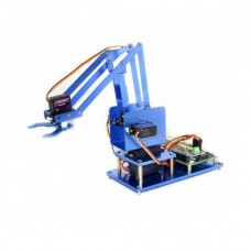 4-DOF Metal Robot Arm Kit for Raspberry Pi. Bluetooth / WiFi - Waveshare 16376