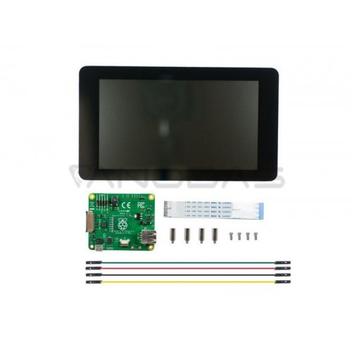 "Raspberry Pi 7"" Resistive Touch Screen (800x480px) - Official"