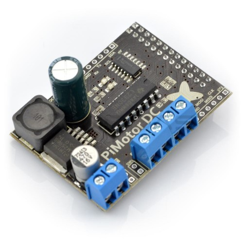 Raspberry Pi Motor Shield - PiMotor
