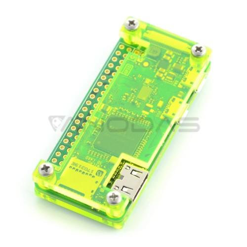 Raspberry Pi Zero Dėžutė - Fluo Open - Žalia
