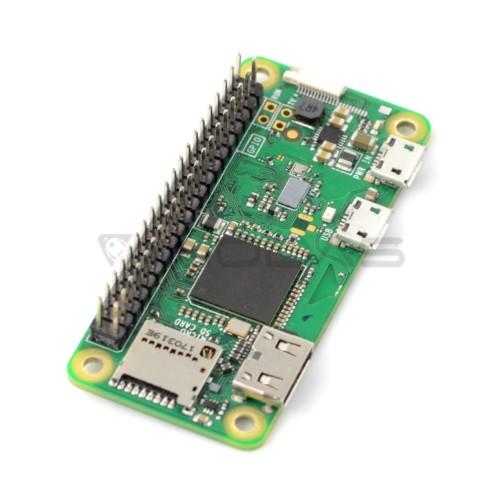Raspberry Pi Zero W 512MB RAM - WiFi + BT 4.1 - Su GPIO