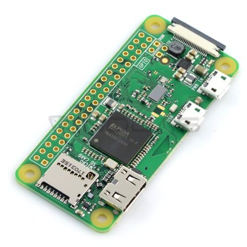Raspberry Pi Zero W 512MB RAM 1GHz - WiFi + BT 4.1