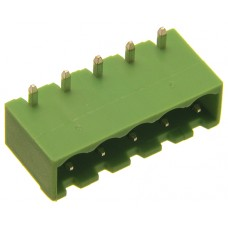 04 poles pitch 5.00mm height 8.4mm green colour close