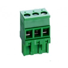 10 poles pitch 5.08mm height 25.8mm green colour clamp:phosphor bronze tin