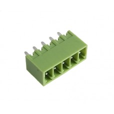 5 poles pitch 3.5mm height 9.1mm green color