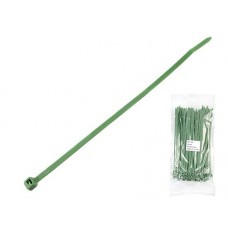 Cable tie with durability to chemicals and UV 200x4.8mm green