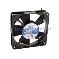 Cooling Fan 12025S2HL MAXAIR 120x120x25mm 230V sleevel bearing