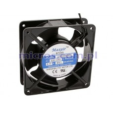 Cooling Fan 12038B2ML MAXAIR 120x120x38mm 230V ball bearing