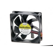 cooling fan.Sanyo Denki 9WF0824S401 San Ace 80WF.24V 80x80x25mm
