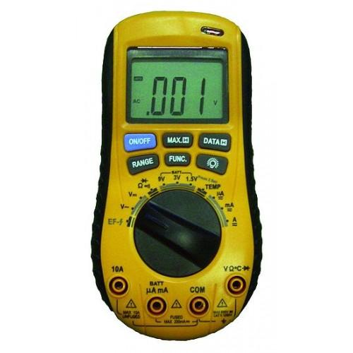 Digital multimeter with no contact AC voltage detector VA20B