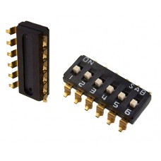 DIS08G01 SAB dip-switch 8 contacts SMD montage p 2.54mm