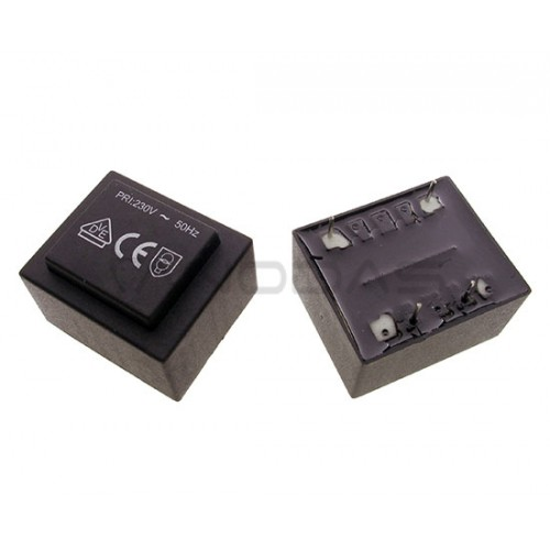Encapsulated transformer  1.5VA 230V/12V 125mA Ta=70