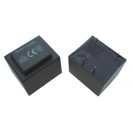 Encapsulated transformer  2VA 230V/12V 167mA Ta=70