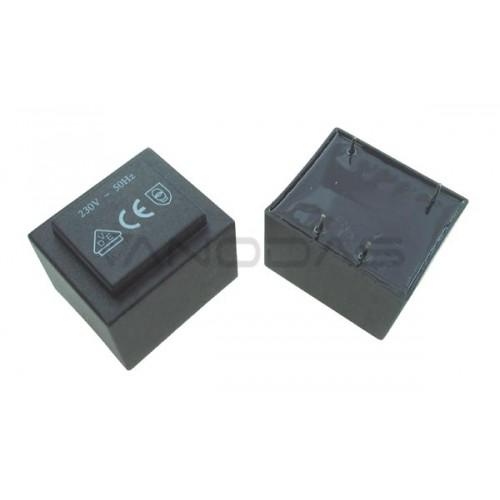 Encapsulated transformer  2VA 230V/9V 222mA Ta=70
