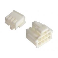 female connector 2x04 pin 3A 250VAC