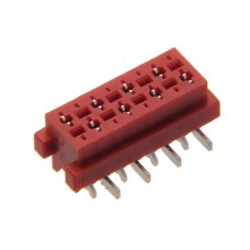 "Female ""Micro-Match""  8pin straight  for SMD"
