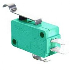 Galinis jungiklis ON-(ON) SPDT 24mm 5A 250VAC