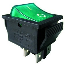 IRS201-1C3gr illuminated rocker switch