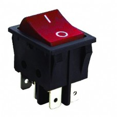 IRS202-6C3r illuminated rocker switch