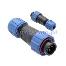 Kištukas kabelinis IP68 SP1310/P3I WEIPU