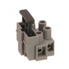 Kontaktinė kaladėlė laidų iki 6mm2 sujungimui 2k su saugiklio lizdu