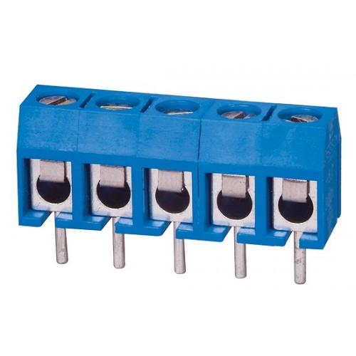 Kontaktinė kaladėlė lituojama į plokštę 2 k 5.0mm