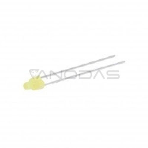 LED  1.8mm  yellow  160-270mcd  diffused