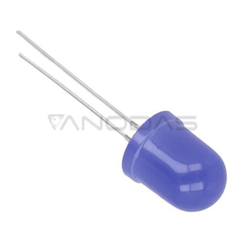 LED  10mm  blue  220mcd  mat