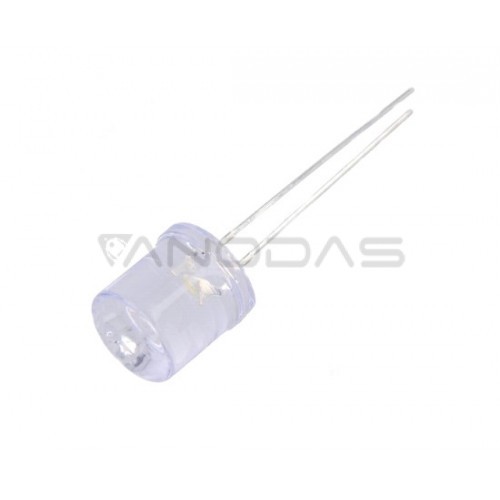 LED  10mm  blue1120mcd  waterclr