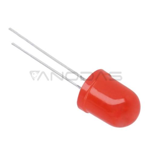 LED  10mm  red  220mcd  mat
