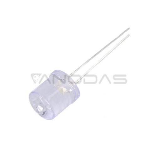LED  10mm  white    2180mcd  waterclr.
