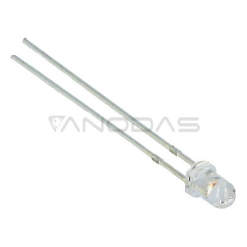 LED  3mm  pink  1560mcd  waterclear
