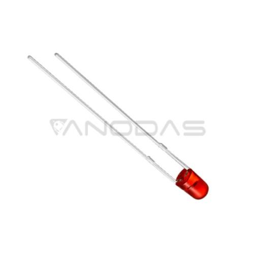 LED  3mm  red  110  mcd  transparent  Pbf