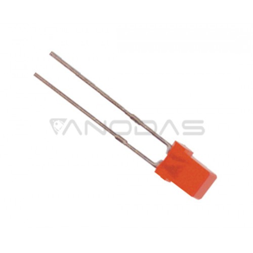 LED  3mm  red  8mcd  diffused  Pb  free