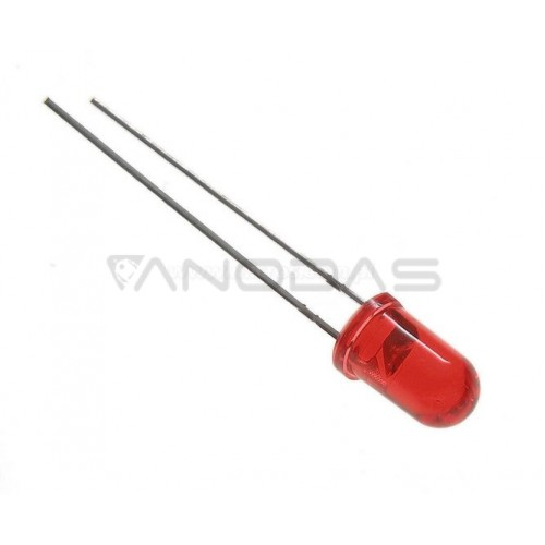 LED  5mm  red  75000mcd  transparent
