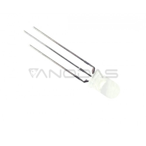 LED  5mm  red/blue  2000mcd  diffused