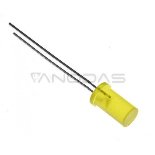 LED  5mm  yellow  200mcd  diffused  Pb  free