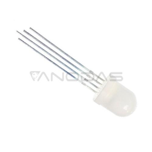 LED  8mm  450/600/200mcd  4  pins,  diffused