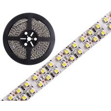 LED juosta šaltai balta (6000K) 240LED/m 3528 19.2W 12V 6000lm IP20 1m