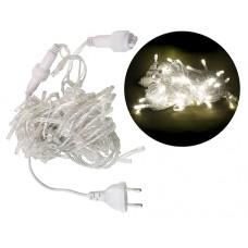 LED Kalėdinė girlianda šiltai balta spalva 10m 230V