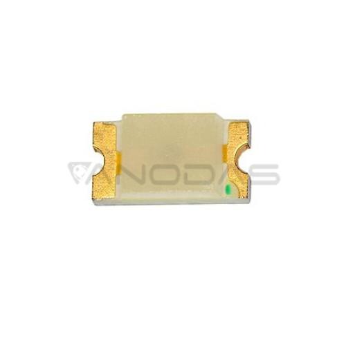 LED  SMD  0603  green:  1-450mcd,  transp