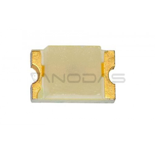 LED  SMD  0805  yellow:  18-180mcd,  transp