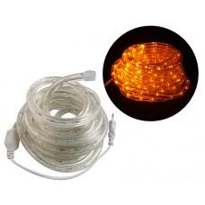 LED Šviesos vamzdelis geltona spalva 5m 230V IP65