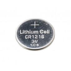Lithium coin battery CR1216 3V 25mAh 12.5x1.6mm Kinetic